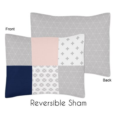 Fox Patch Standard Pillow Sham