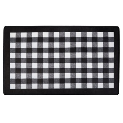 Dorado Anti Fatigue Kitchen Mat Color: Black
