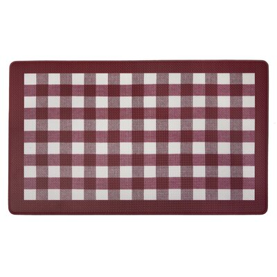 Dorado Anti Fatigue Kitchen Mat Color: Burgundy