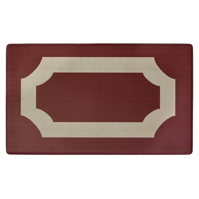 Duggins Anti Fatigue Kitchen Mat Color: Marsala