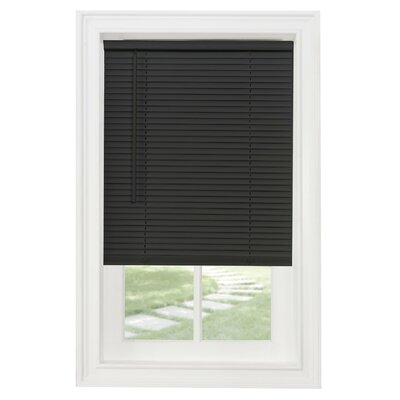 Zukowski Room Darkening Venetian Blind Size: 30W x 64L, Color: Black
