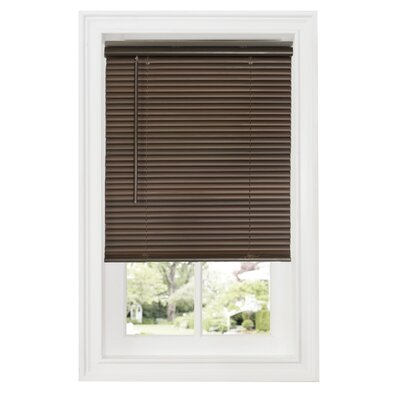 Cordless Room Darkening Venetian Blind Size: 30W x 64L, Color: Mahogany