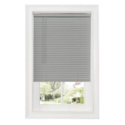 Cordless Room Darkening Venetian Blind Size: 31W x 64L, Color: Gray