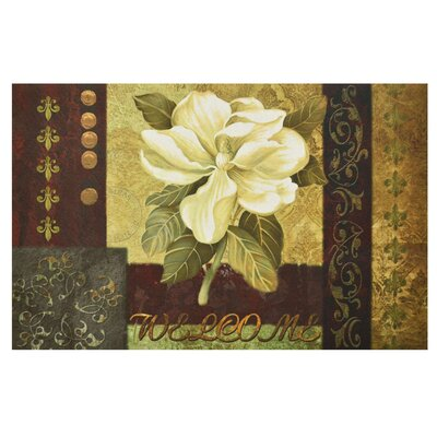Horstman Magnolia Welcome Doormat