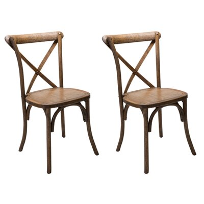 Dunaird Xback Farm Solid Wood Dining Chair