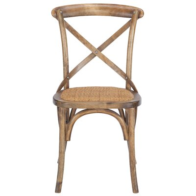 Doncaster Crossback Dining Chair Color: Walnut