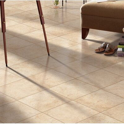 Adelphia Glazed 13 x 13 Porcelain Field Tile in Sabbia