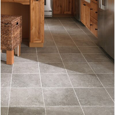 Adelphia Glazed 13 x 13 Porcelain Field Tile in Bruno