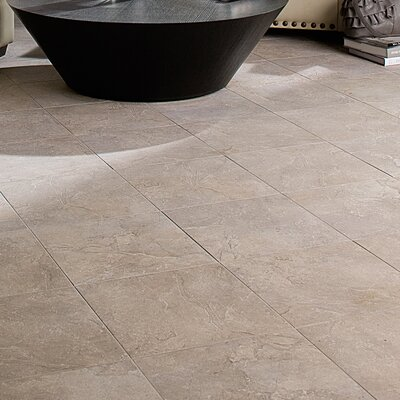 Adelphia Glazed 13 x 13 Porcelain Field Tile in Grigio