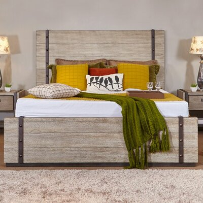 Dominey Platform Bed Size: King