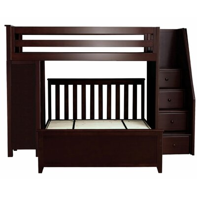 Alturas Staircase Combo Twin Over Full Loft Bed