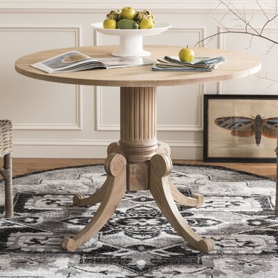 Albertine Drop Leaf Dining Table Color: Rustic Natural