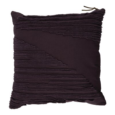 Shelba 100% Cotton Throw Pillow Color: Plum