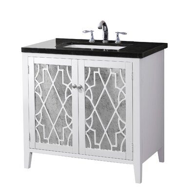 Audrina 35 Single Bathroom Vanity Set