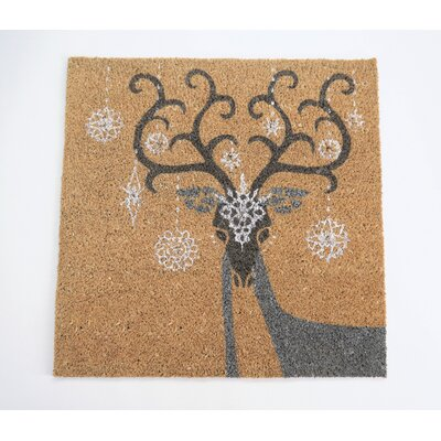 Reindeer Lighted Doormat