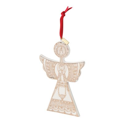 Angel Ceramic Shaped Ornament THLY3823 45133057