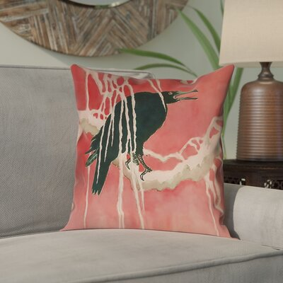 Montreal Crow and Willow Pillow Cover Size: 26 x 26