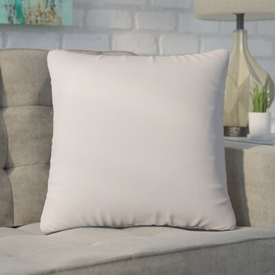 Ansley Solitaire Throw Pillow Color: Light Gray