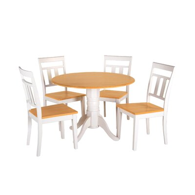 Adira 5 Piece Drop Leaf Dining Set