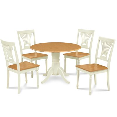 Ademar 5 Piece Drop Leaf Dining Set