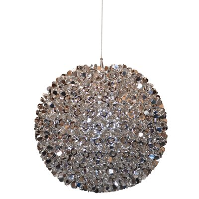 Dasia Metal 15-Light Globe Pendant