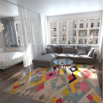 Delane Area Rug Rug Size: Rectangle 7 x 10