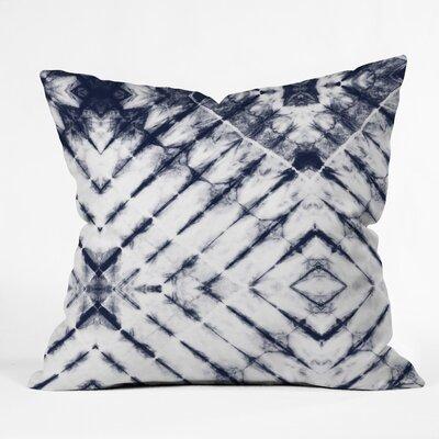 Little Arrow Design Co Shibori Tie Throw Pillow Size: 18 x 18