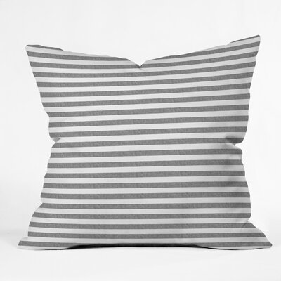 Little Arrow Design Co Stripes Throw Pillow Size: 18 x 18