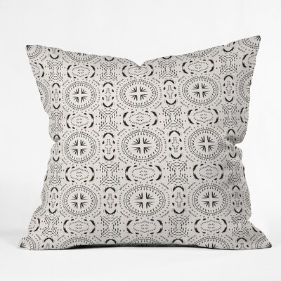 Holli Zollinger Mandala Tile Throw Pillow Size: 16 x 16