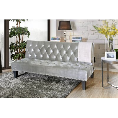 Gumbs Transitional Convertible Sofa Upholstery: Gray