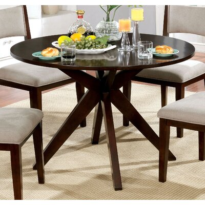 Bathurst Mid-Century Modern Round Dining Table