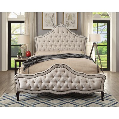 Shepherd Upholstered Panel Bed