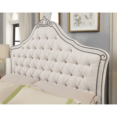 Shepherd Upholstered Headboard Size: Queen