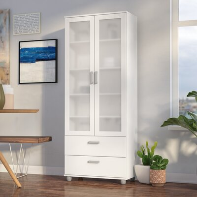 Heritage China Cabinet Color: White
