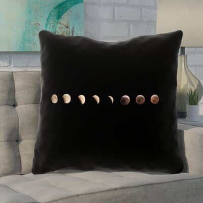Shepparton Moon Phases Linen Euro Pillow