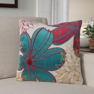 Armisen Floral Throw Pillow