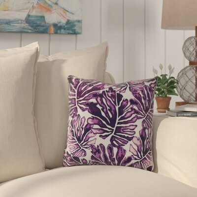 Thirlby Throw Pillow Size: 16 H x 16 W x 3 D, Color: Purple