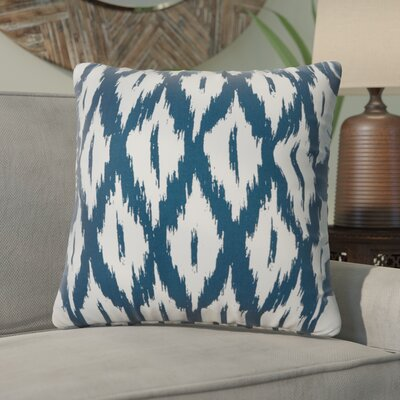Maribel Throw Pillow Color: Indigo