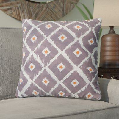 Mervela Throw Pillow Color: Charcoal