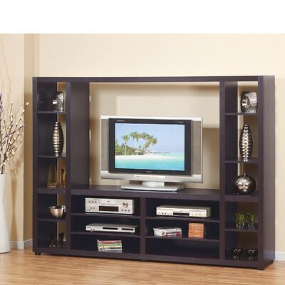 Wadkins Glamorous Solid Design 75.25 Entertainment Center