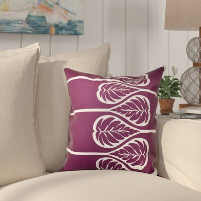 Hilde Outdoor Throw Pillow Size: 20 H x 20 W, Color: Purple