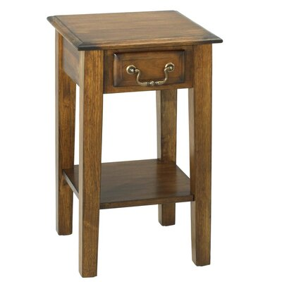 Seger Squared End Table with Drawer