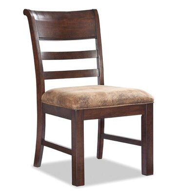 Alexandria Ladder Back Upholstered Dining Chair