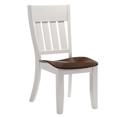 Adalard Dining Chair Frame Color: White