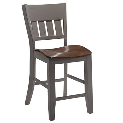 Adalard Bar Stool Color: Gray