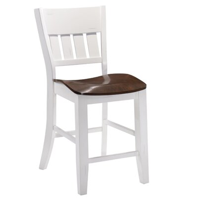 Adalard Bar Stool Color: White