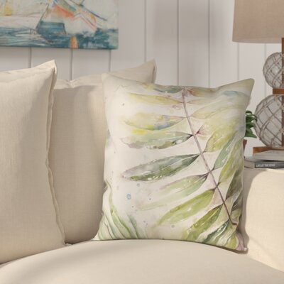 Ellsworth Watercolor Outdoor Throw Pillow