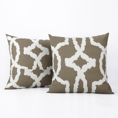 Bucktown 100% Cotton Pillow Cover Color: Birch
