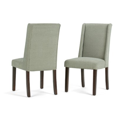 Sotherby Deluxe Upholstered Dining Chair Upholstery Color: Mist