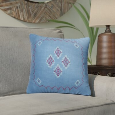 Stellan Accent Throw Pillow Color: Indigo, Size: 24 x 24